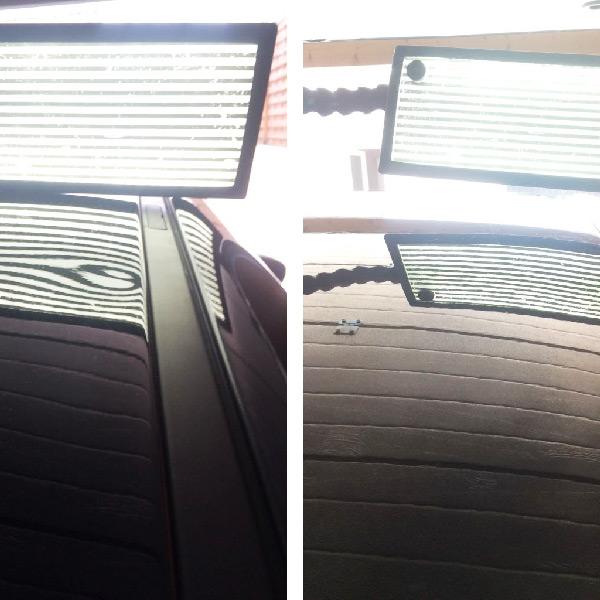 Debosselage toit voiture